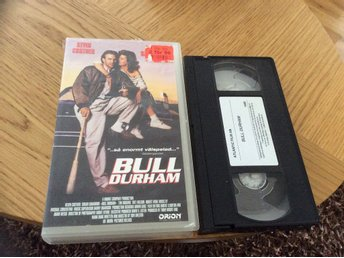 BULL DURHAM VHS kevin Coster,Tim Robbins