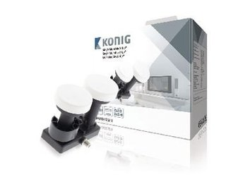 König LNB Single Monoblock 6.0° 1.1 dB