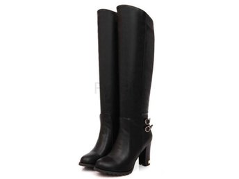 Dam Boots Winter Warm Boots Female Shoes Botas Black 40