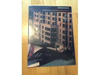 Madonna Nothing Really Matters sheet music noter