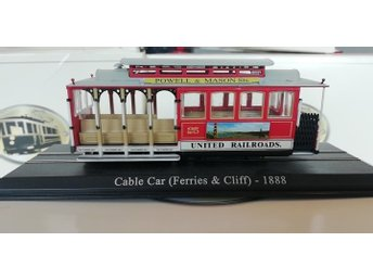 Atlas Tram Models Collection Cable Car (Ferries & Cliff) 1888