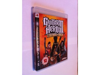 PS3: Guitar Hero III - Legends of Rock