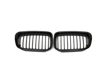 Gloss Black Grill Grille For BMW 3 Series E46 99-01 4Door...