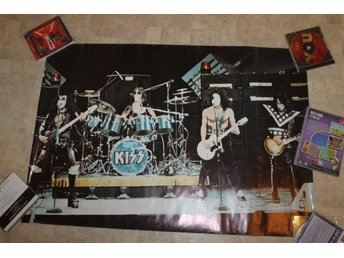 Kiss poster live Gene Paul Peter Ace