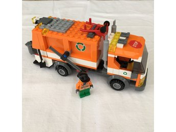 LEGO City 7991 - Orange sopbil med figur