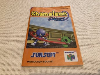 Chameleon Twist - N64 manual
