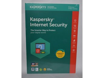 Kaspersky Internet Security 2019 Multi Device, 3 PC, 1 År