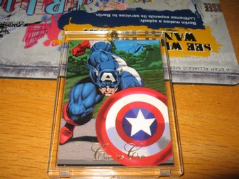CAPTAIN AMERICA VS THE CAPTAIN. INPLASTAD NY. NR 65.  SE TEXTEN.