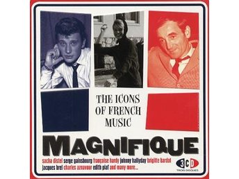 Magnifique/Icons of French Music (Plåtask) (3CD)