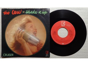 THE CARS 'Shake It Up' 1981 German 7""