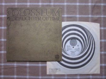 COLOSSEUM - Daughter Of Time, 1970 UK, VERTIGO SWIRL!!!