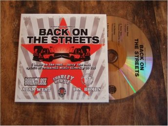 Back On The Streets / U.S. Bombs / Texas Terri mm  (CD /  2006 / Promo Copy)