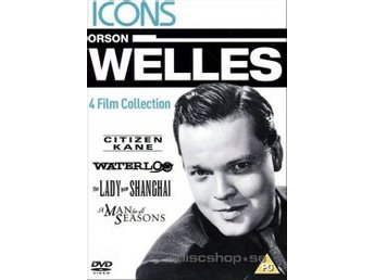 Orson Welles - Icons collection (4-disc) (Import)