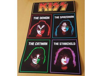KISS SOLO ALBUMS 1978 PHOTO POSTER