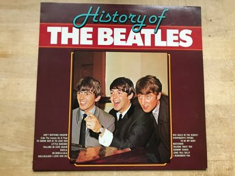 BEATLES THE - HISTORY OF THE BEATLES LP
