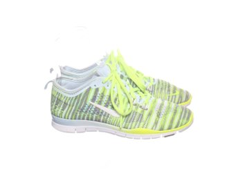 best cheap 2d4aa f275b Nike Free Run, Löparskor, Strl 37.5, GrönGråVit