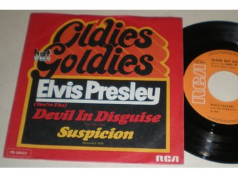 Elvis Presley 45/PS Devil in disguise 197? VG++