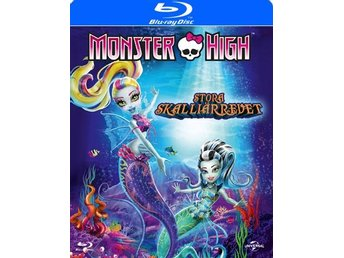 Monster High 10 / Stora Skalliärrevet (Blu-ray)