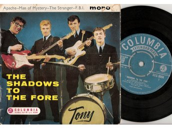 The Shadows to the Fore – 4 track vinyl EP 45