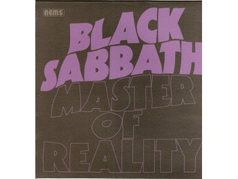 BLACK SABBATH - MASTER OF REALITY. LP