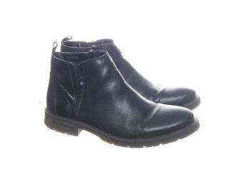 Rieker, Boots, Strl: 41, Svart, Skinn