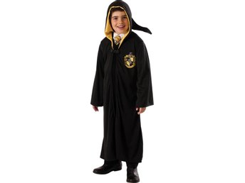 HARRY POTTER 5-7 år Hufflepuff kappa ROBE