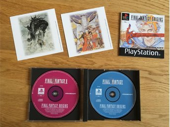 Final Fantasy Origins 1 & 2 I II PS one
