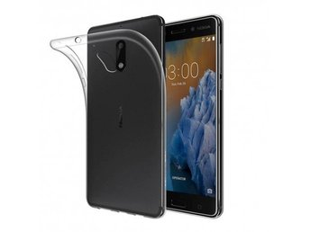 Nokia 3 silikon skal transparent Färg: Transparent