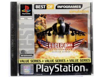 Eagle One: Harrier Attack (Best Of Infogames) - PS1 - PAL (EU)
