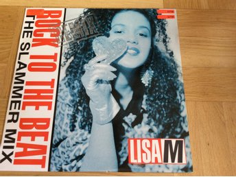 Lisa M Rock to the beat remix 12""