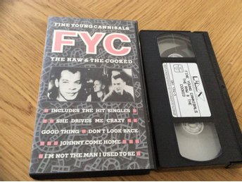 FINE YOUNG CANNIBALS  VHS The raw & The cooked
