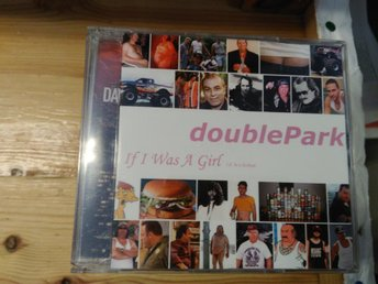 Double Park - If I Was A Girl, CD, promo