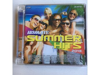 ABSOLUTE SUMMER HITS 2013, 2CD
