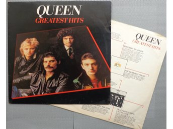 QUEEN 'Greatest Hits' 1981 South African LP w/innersleeve