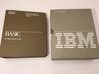 IBM Basic v1.10 - by Microsoft - 1983 - dokumentation