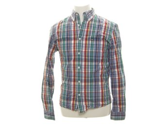Lexington, Buttondown-skjorta, Strl: S, Washed Poplin Classic Fit