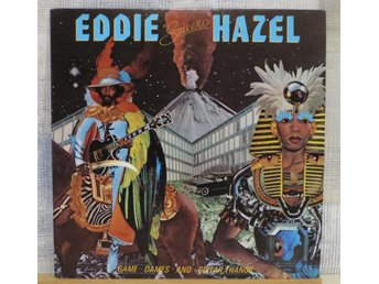 EDDIE HAZEL :: GAME,DAMES AND GUITAR THANGS (LP) US Orig