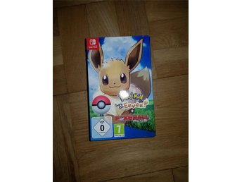 Pokemon Lets Go Eevee + Poke Ball Plus