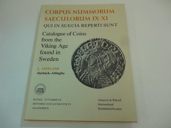 Catalogue of Coins from Viking age found in Sweden - 1. Gotland - Akebäck - Atli