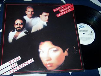 MIAMI SOUND MACHINE - EYES OF INNOCENCE LP 1984