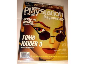 PLAYSTATION Mag  Nr12  HELT NY m CD  12/1998 TOMB RAIDER 3
