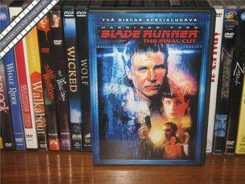 BLADE RUNNER (The Final Cut) (2-Disc) - Harrison Ford *UTGÅNGEN DVD* Svensk text - åmål - BLADE RUNNER (The Final Cut) (2-Disc) - Harrison Ford *UTGÅNGEN DVD* Svensk text - åmål