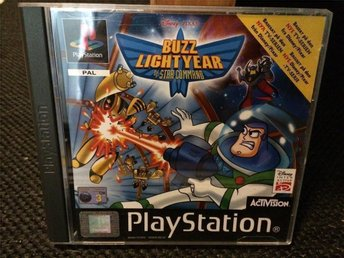 Buzz Lightyear Of Star Command - PS1