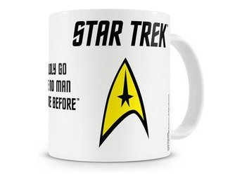 Star Trek Mugg Boldly