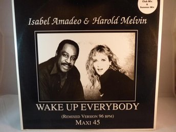 ISABEL AMADEO & HAROLD MELVIN -WAKE UP (MAXI SINGLE-VINYL)