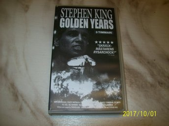 Stephen king - Golden years - VHS