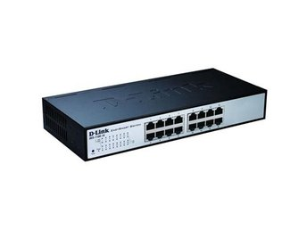 D-Link 16-port 10/100 EasySmart Switch 19inch Rackmount