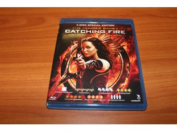 Blu-ray: The hunger games: Catching fire (Jennifer Lawrence) (2-discs)