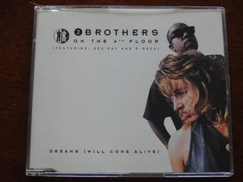 2 Brothers on the 4th Floor feat. Des Ray & D-Rock - Dreams (Will Come Alive) CD
