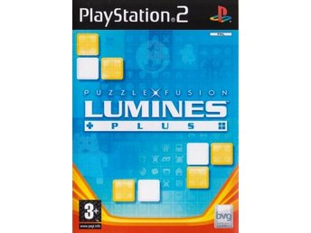 PS2 - Lumines Plus : Puzzle Fusion (Beg)